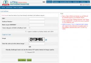 Pan Card को Aadhar Card से Link कैसे करें How To Link Pan With Aadhar