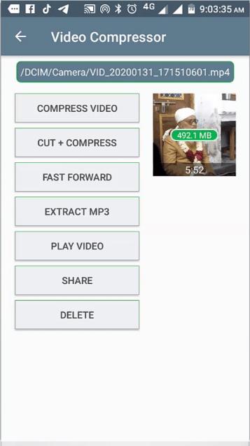 video को compress कैसे करें 1GB का विडियो 100 MB का बनाएं