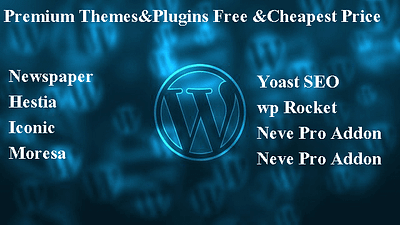 Premium Wordpress Themes&Plugins Free And Cheapest Price