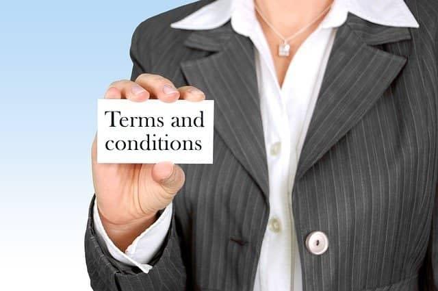 Terms And Conditions Page कैसे बनाये ब्लॉग या वेबसाइट के लिए